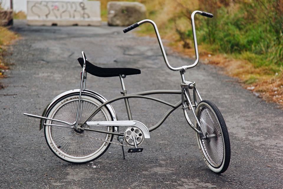Polished bike