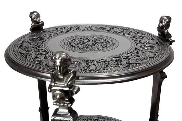 Polished table